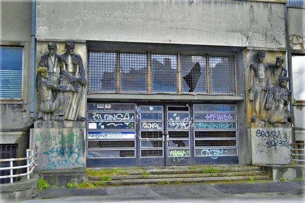 Abandoned hospital building, Bratislava, Slovakia