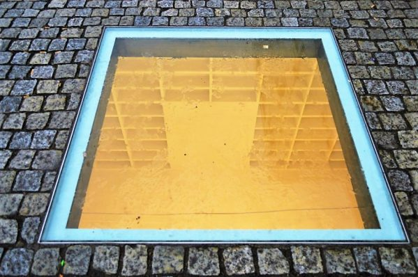 Burned book memorial, Berlin