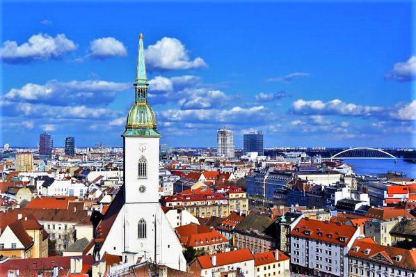 City of Bratislava, Slovakia, Europe
