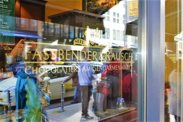 Fassbender & Rausch chocolate shop in Berlin, Germany