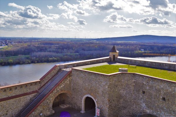 Grounds of Bratislava Castle, Slovakia
