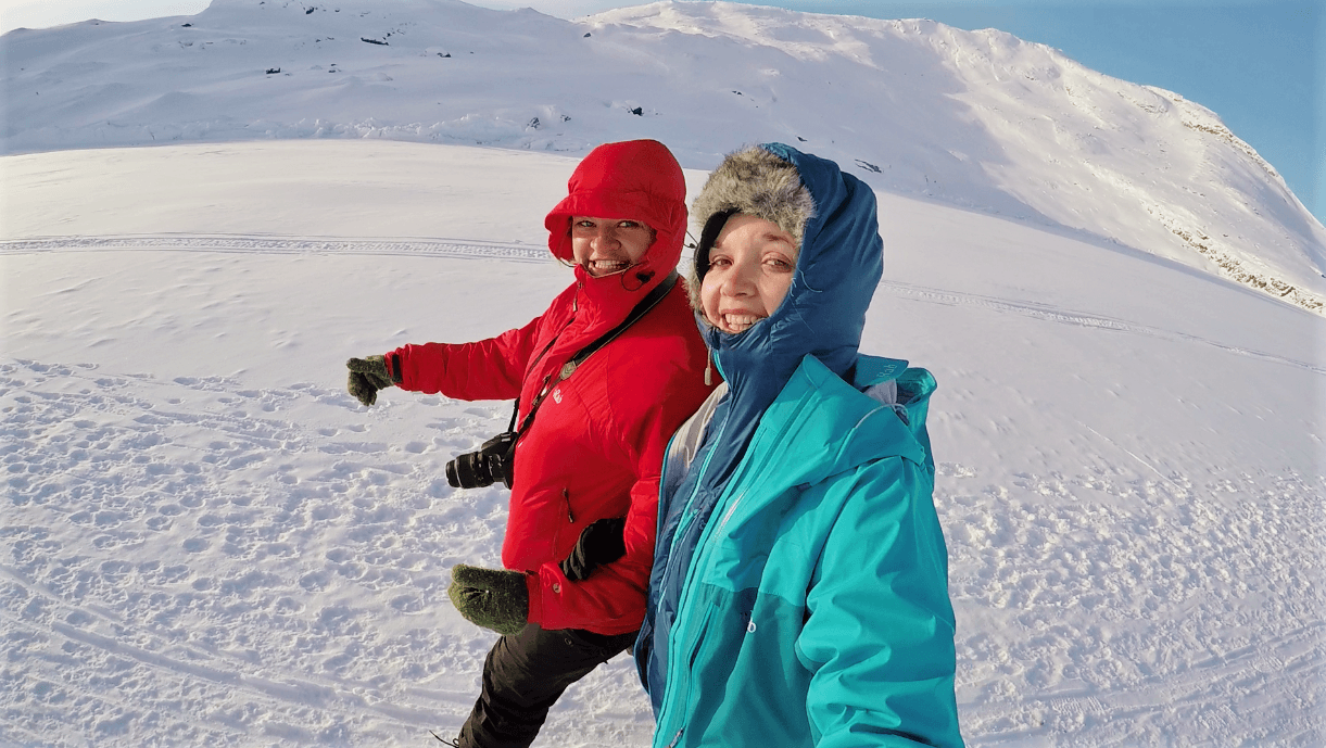 Happy times in Greenland