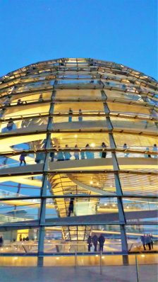 Outside the Reichstag dome, Berlin, Germany