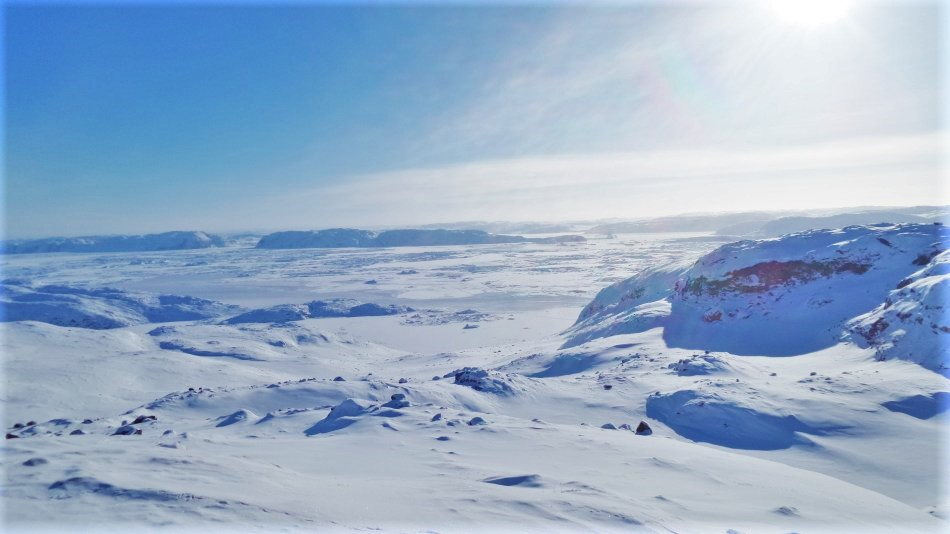The Arctic Circle in Greenland