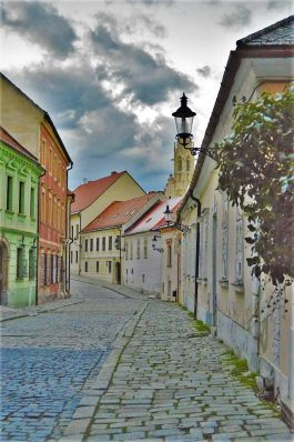 The Pedestrian Zone of Old Town, Bratislava, Slovakia