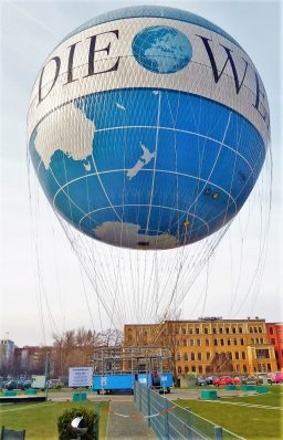 The Berlin Hi Flyer hot air balloon, Germany