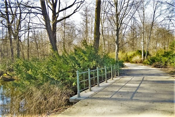 Entrance to Tiergarten, Berlin, Germany