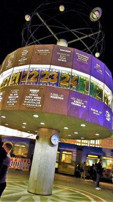 World Clock, Alexanderplatz,,Berlin, Germany