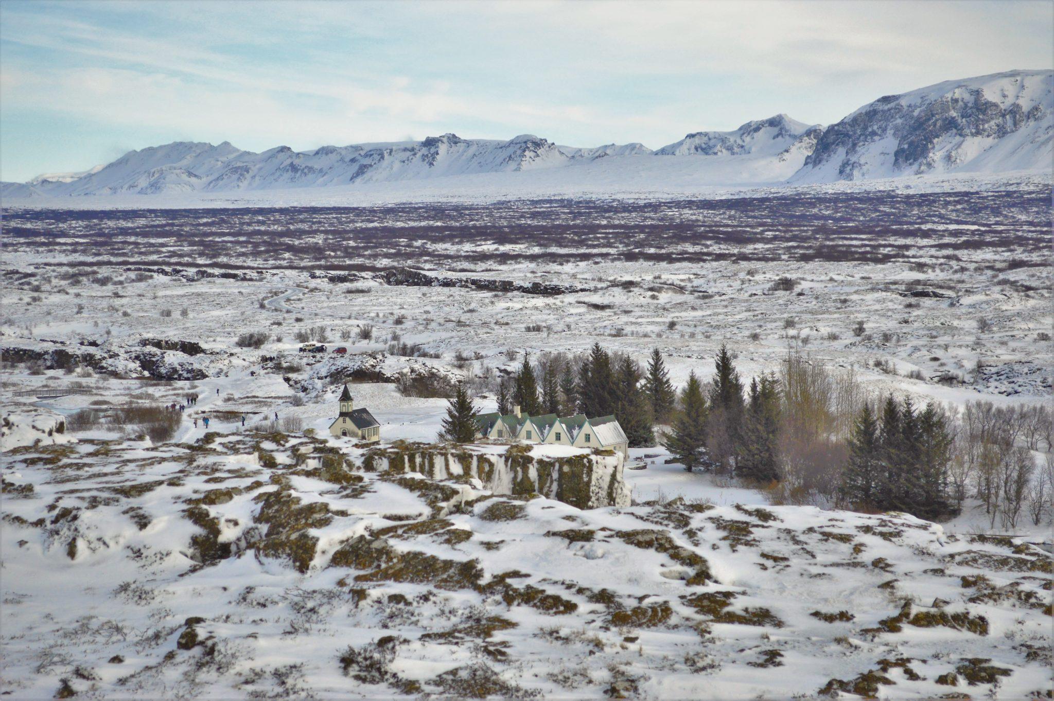 Þingvellir National Park in the Golden Circle, Iceland