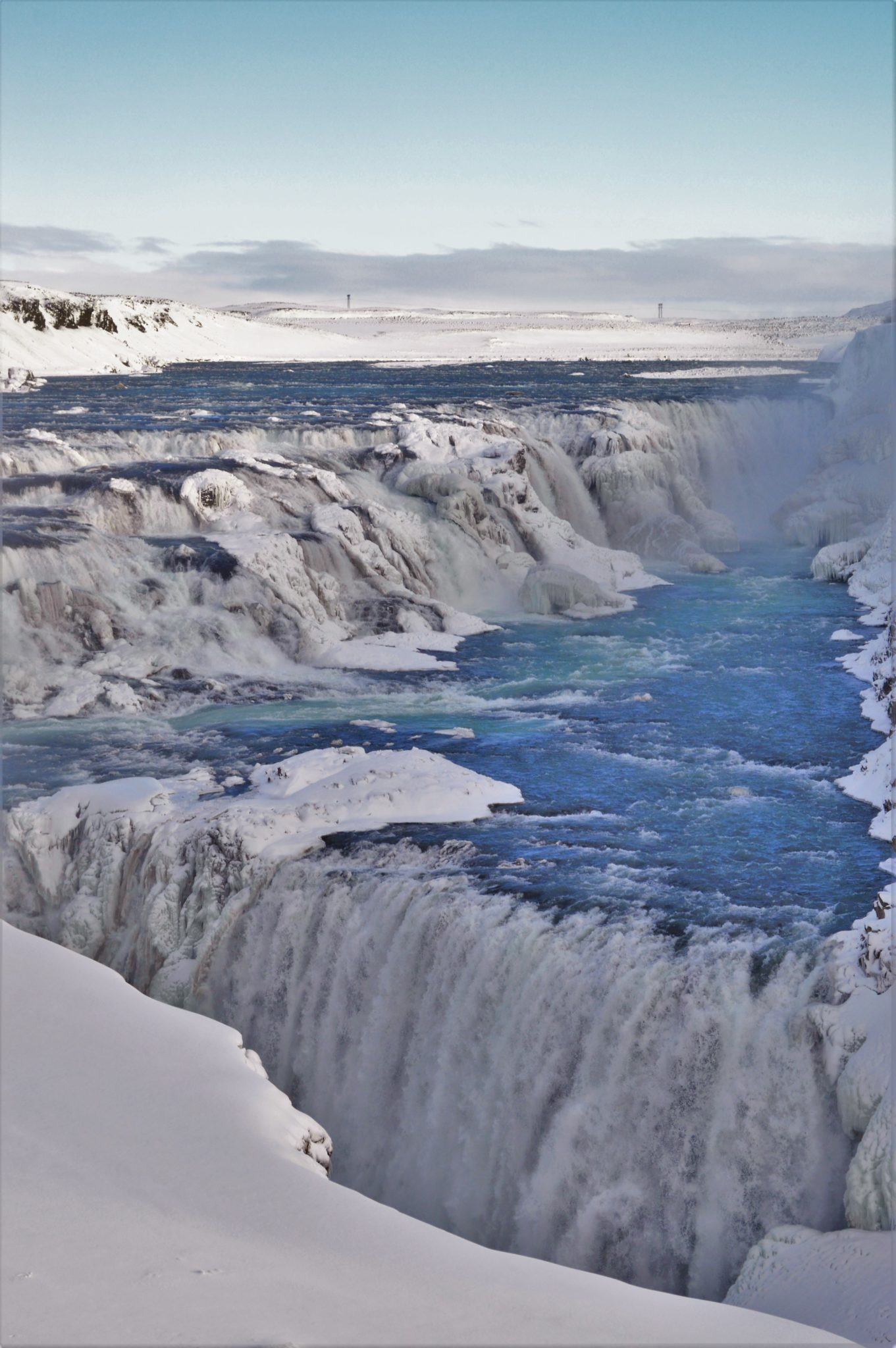 Gulfoss waterall, part of the Golden Circle in Iceland