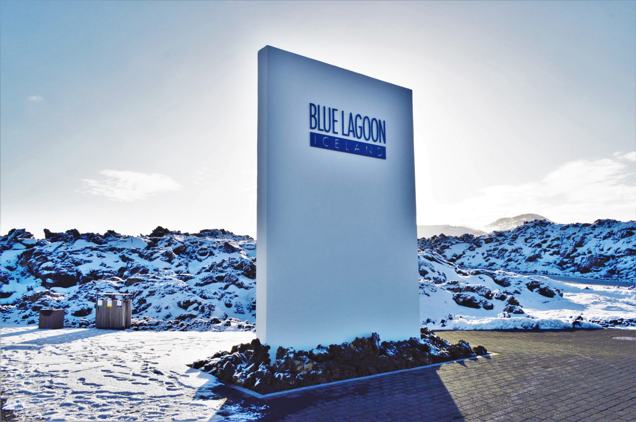 Blue Lagoon Entrance in Iceland, Europe