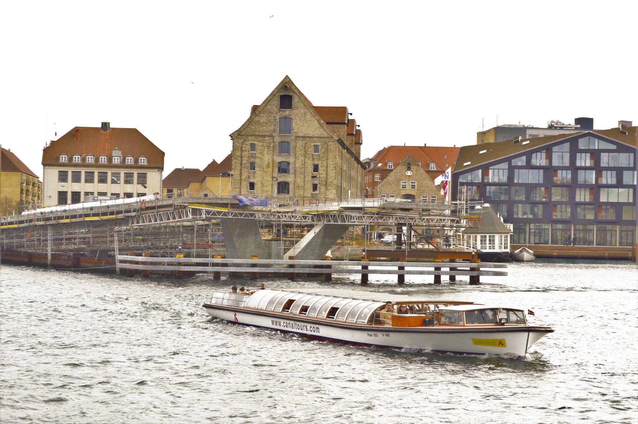 Boat trip, Copenhagen, Denmark