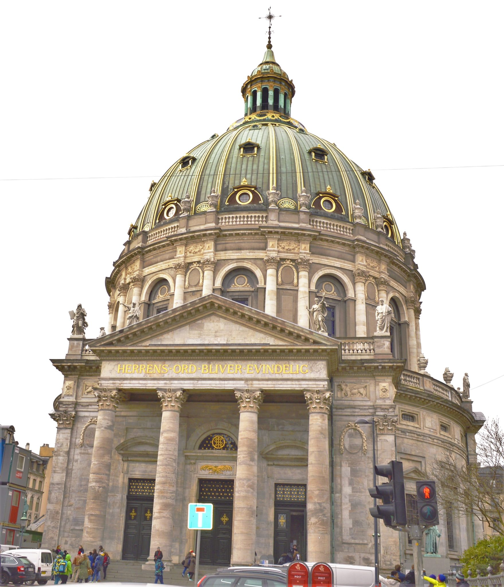 Frederik's Church, Copenhagen, Denmark