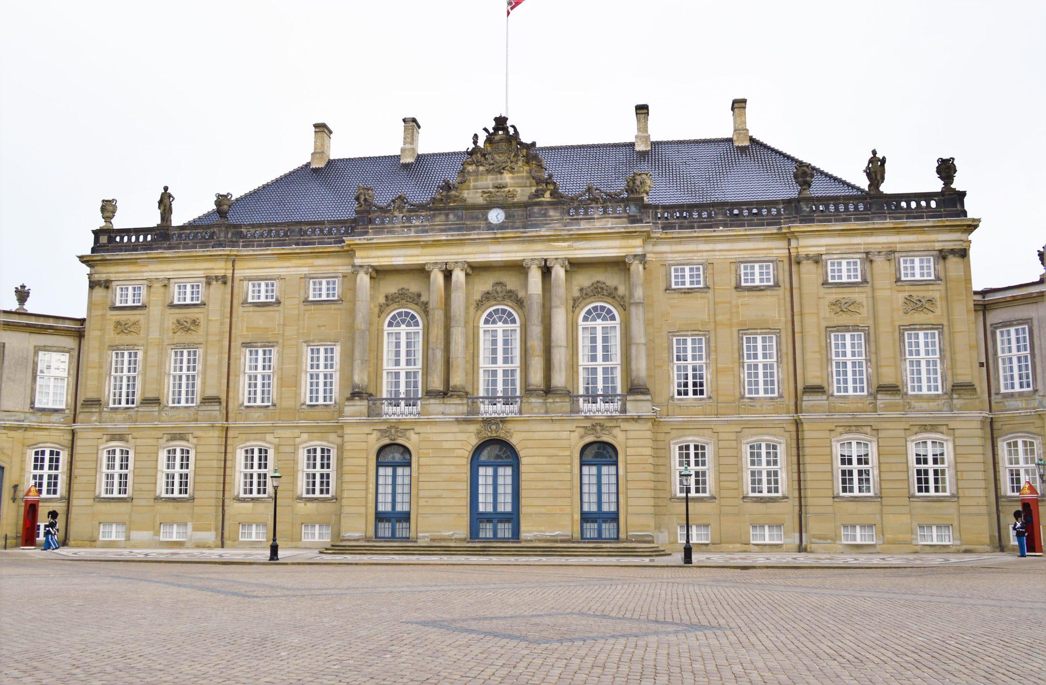 Royal Palace Amalienborg, Copenhagen, Denmark
