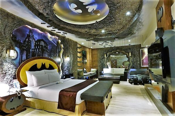 The Eden Hotel, Taiwan, the Bat Cave room