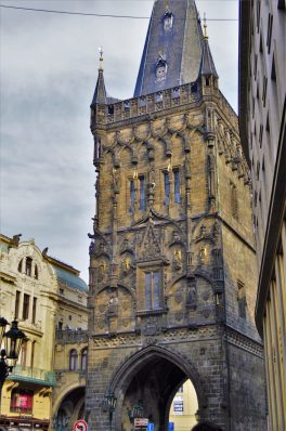 The Powder Tower, Prague, Czech Republic