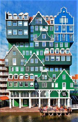 Amsterdam Zaandam Inntel Hotel, front view, Netherlands