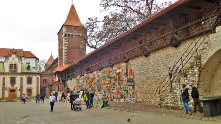 Art work, Krakow, Poland, Europe