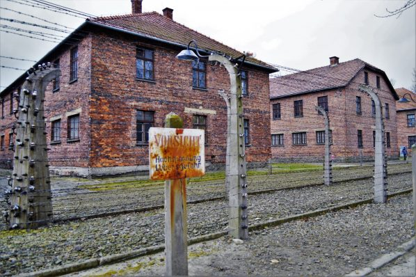 Auschwitz-and-Birkenau-Barracks-buildings-Poland-Europe