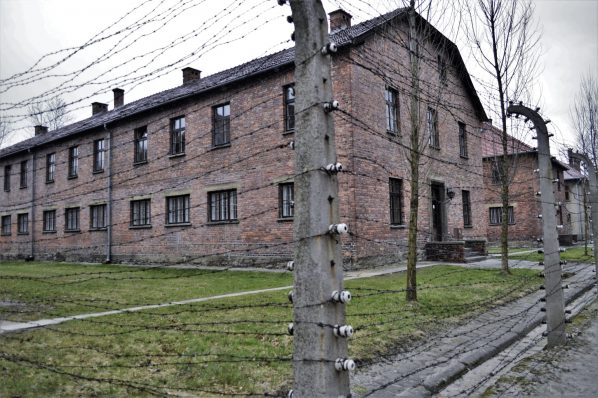 Auschwitz and Birkenau, barbed wire, Poland, Europe