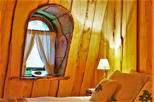 Bedroom, Magic Mountain Hotel, Huilo Huilo Reserve, Chile