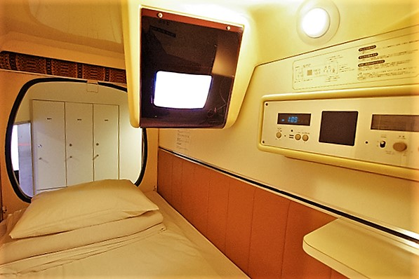 Capsulevalue Kanda, Tokyo, Japan, Bed