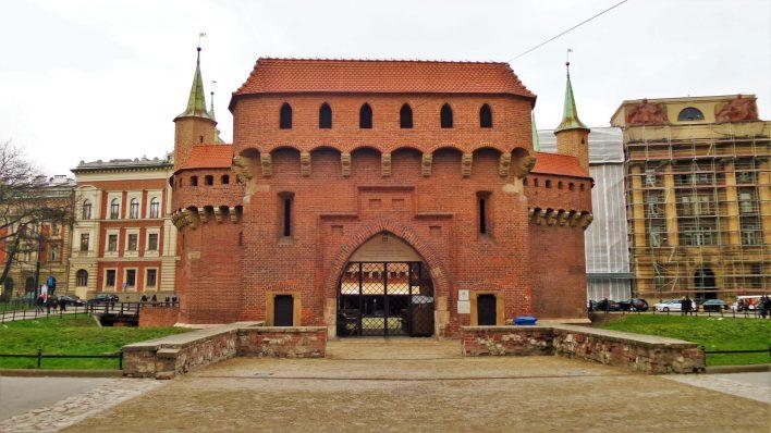 City Defensive Walls (Mury Obronne), Krakow, Poland