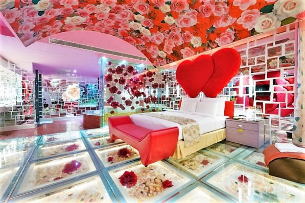 Eden Motel, Taiwan, Hearts room