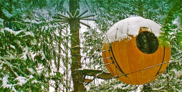 Free-Spirit-Spheres-in-the-snow-Vancouver-Island-Canada
