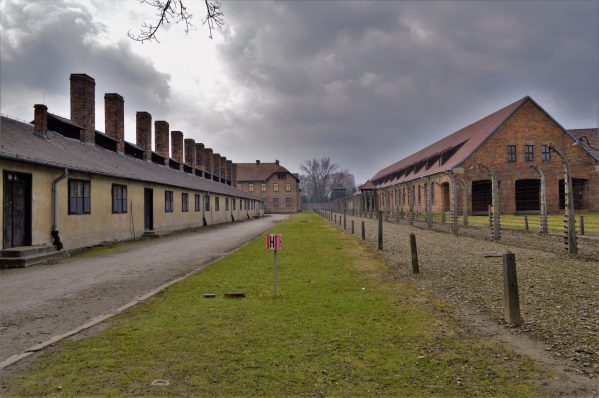 Grounds of Auschwitz and Birkenau, Poland, Europe