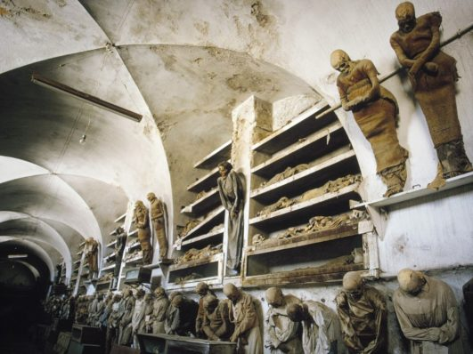 A photo of The Catacombs of Palermo in Italy