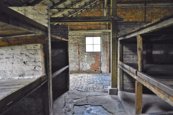 Living quarters, Auschwitz and Birkenau, Poland, Europe