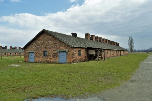 Living quarters building, Auschwitz and Birkenau, Poland, Europe
