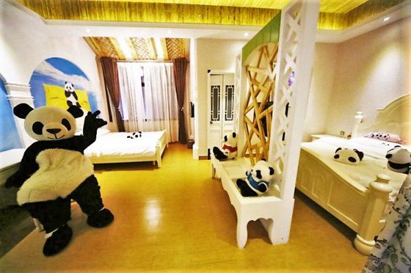 Panda Inn hotel, China