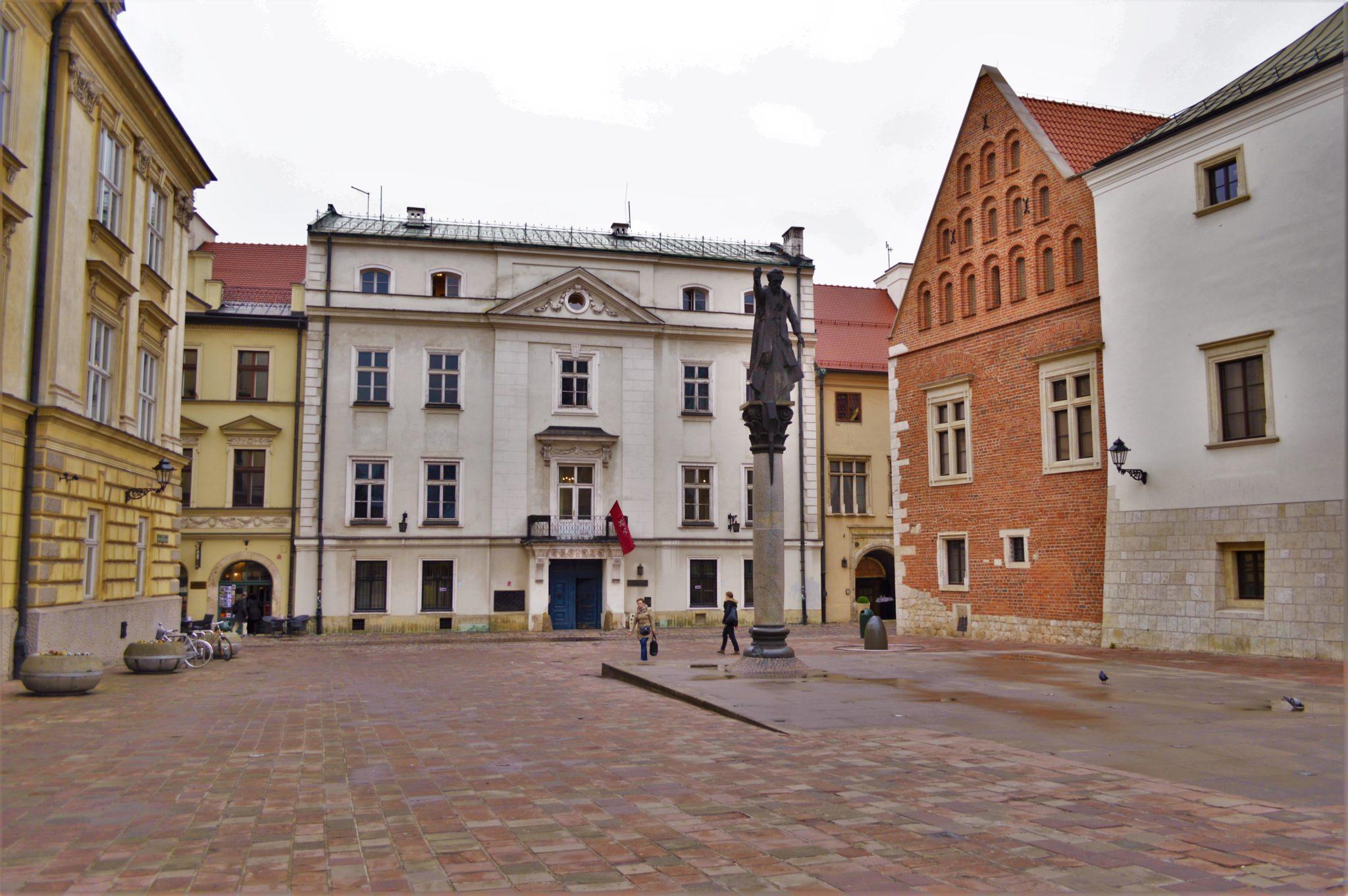 Piotr Skarga Poweski monument, Krakow, Poland