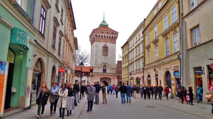 St. Florian's Gate, Krakow, Poland, Europe
