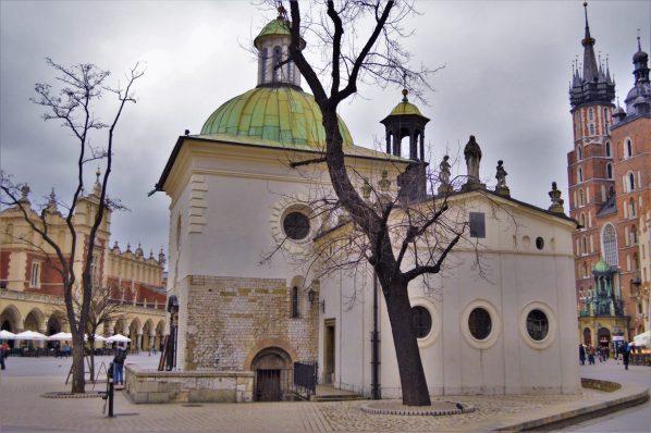 The Church of St. Adalbert, Kraków, Poland