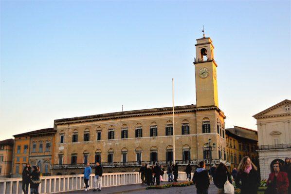 Clock tower, Pisa, Italy