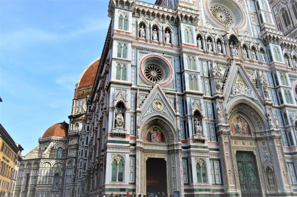 Florence Cathedral art work, Italy
