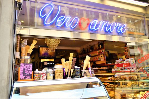 Ice cream and gelato, Florence, Italy