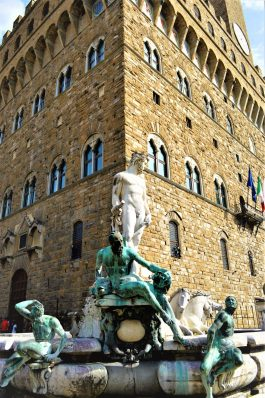 Palazzo Vecchio fountain, Florence, Firenze, Italy