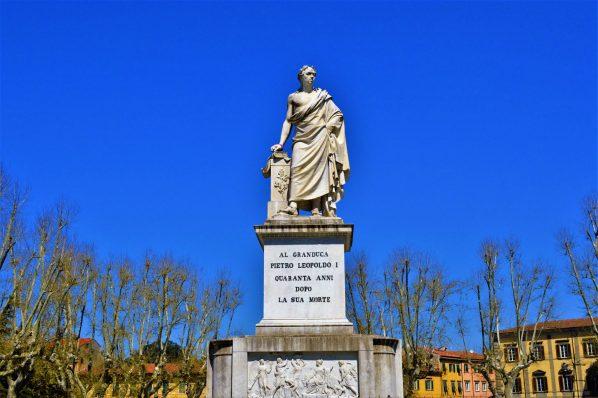 Pietro Leopoldo I statue, Pisa, Italy