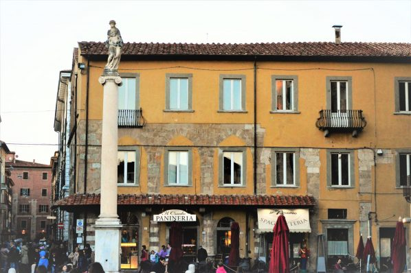 Pisa city centre restaurants, Italy, Europe