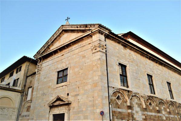 Religious building, Pisa, Italy