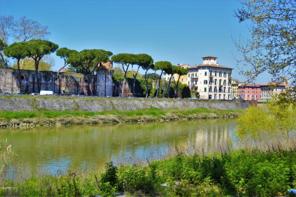 River in Pisa, Italy, Europe