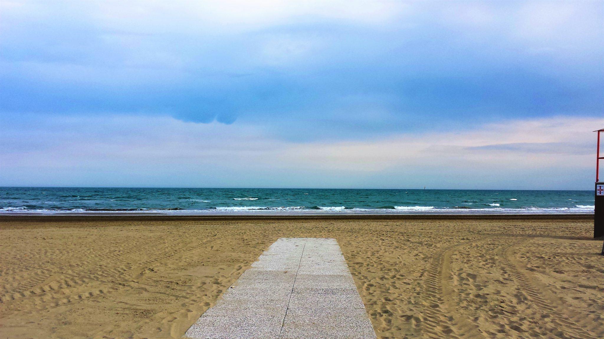 Beach at Marina Di Venezia, Punta Sabbioni, Italy