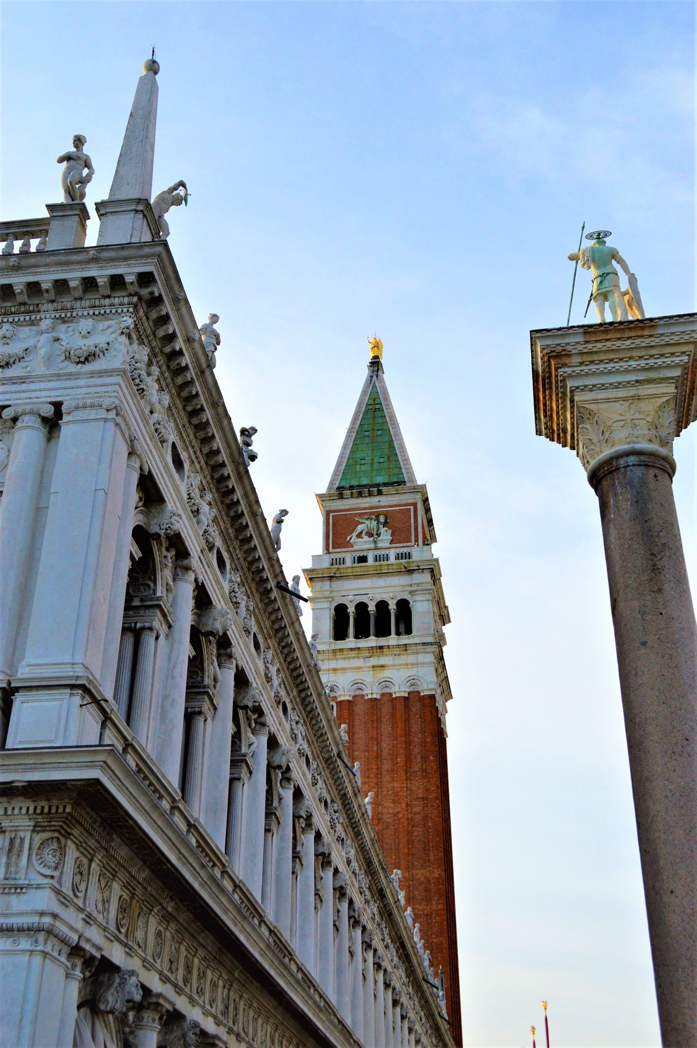 Buildings St Mark's Square, Venice, Italy