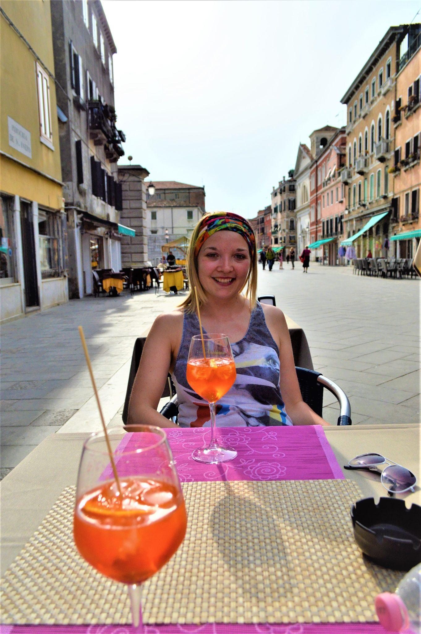 Cheap Aperol Spritz, Venice, Italy