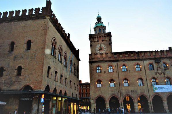 Clock Tower, Bologna, Italy
