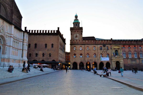Clock Tower main square, 48 hours in Bologna, Italy